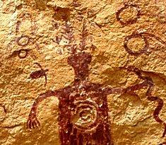 rock art, shaman, ceremony
