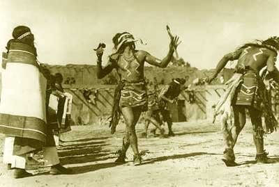 Hopi snake dancers historic photo
