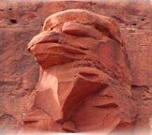 ancestral sacred site eagle head
