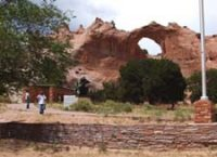 Window Rock, the Navajo nation capitol, Ft. Defiance historic site