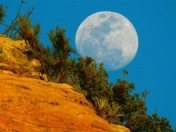 Sedona Full Moon by Rusty Albertson