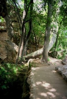 Montezuma Well sacred site, rebirthing ceremony, mystic insights