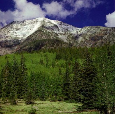 sacred mountain and water under threat by artificial snowmaking