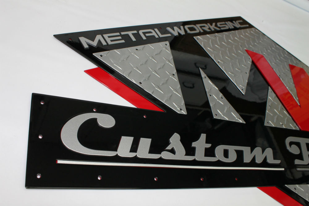 Powder Coated Sign