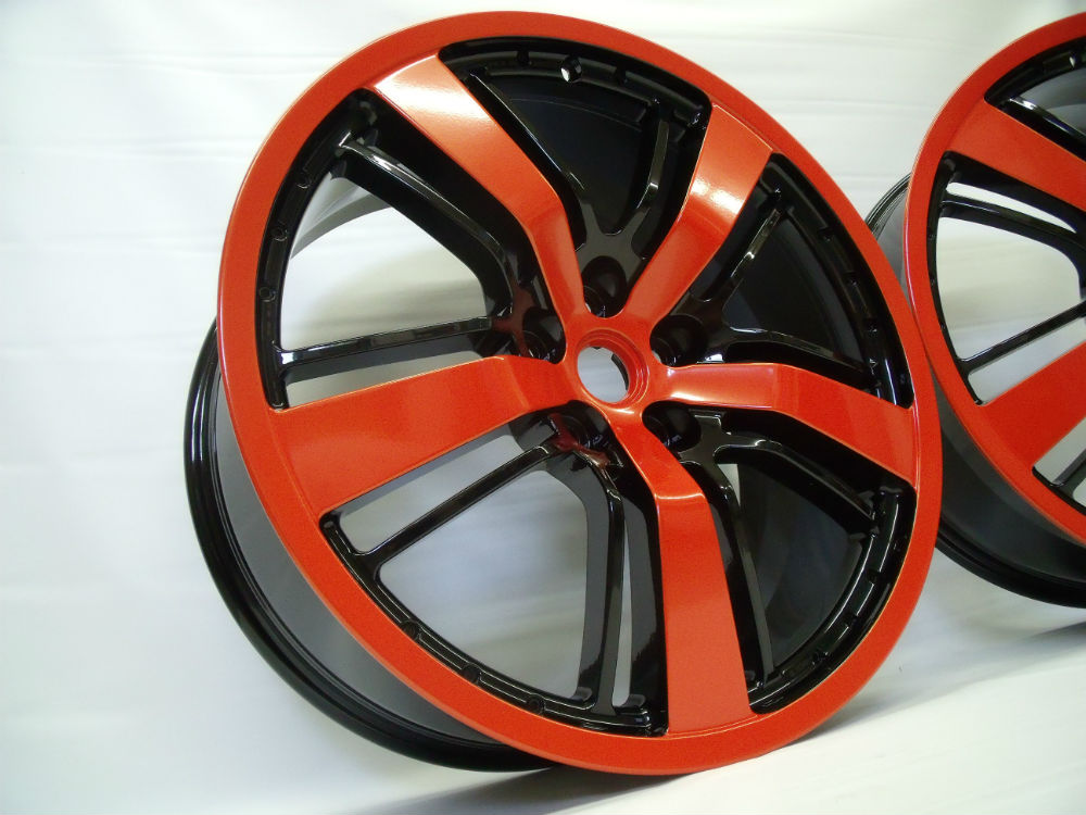 Custom Powder Coating Rims