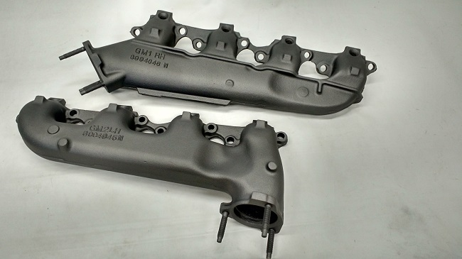 Ceramic Coating V8 Manifolds