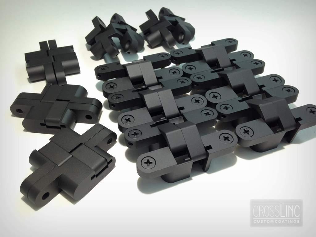 Cabinet Hinges - Graphite Black Ceramic Coat