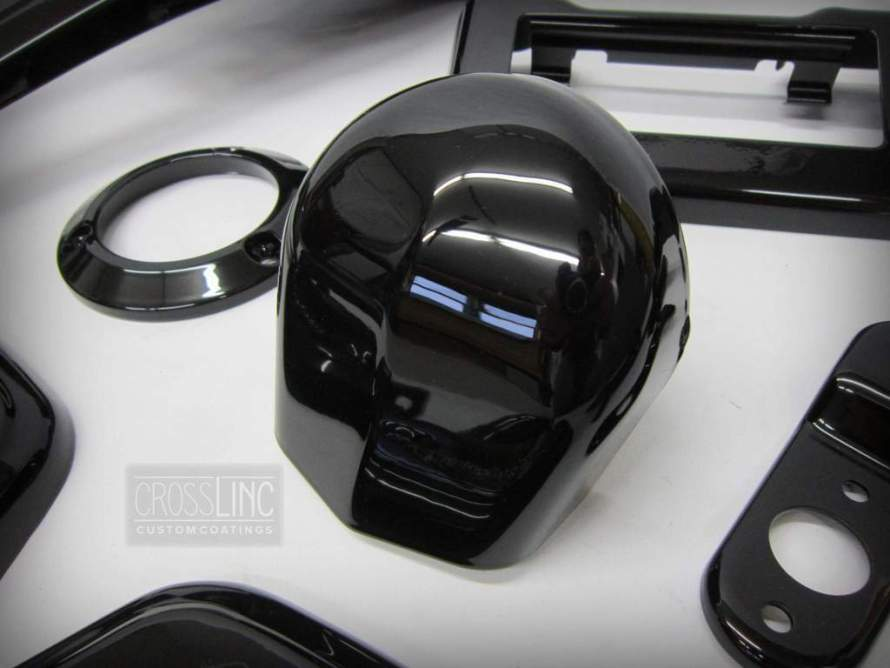 Gloss Black Powder Coating