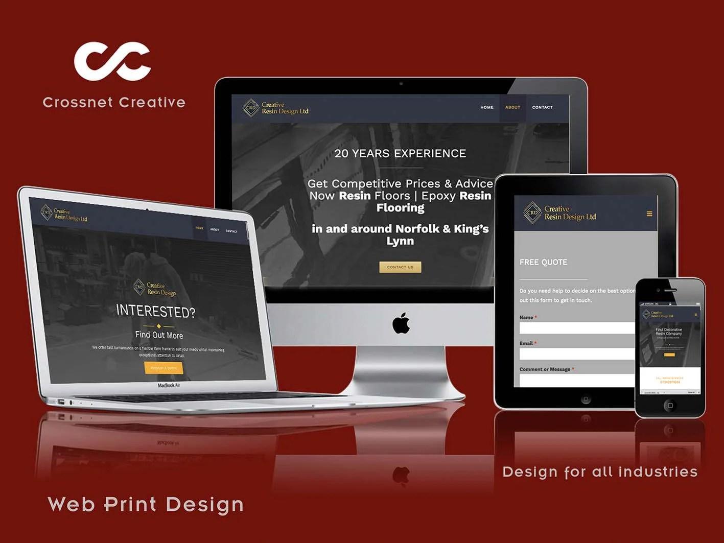 Website design in Norfolk