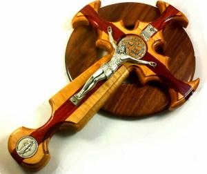 Trinity Celtic St. Benedict Crucifix