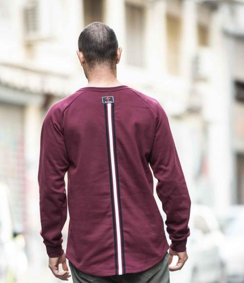 Hunter Long-sleeve Shirt Burgundy