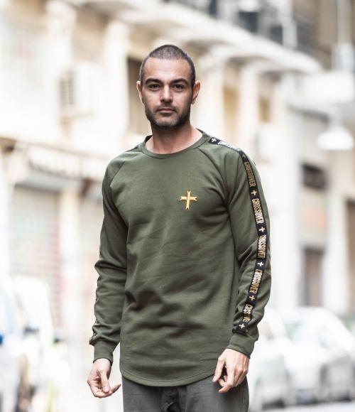 Reveal Premium Long-sleeve Shirt Khaki