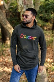 Rainbow Long-sleeve Shirt Κhaki