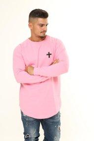 Base Long-sleeve Shirt Pink