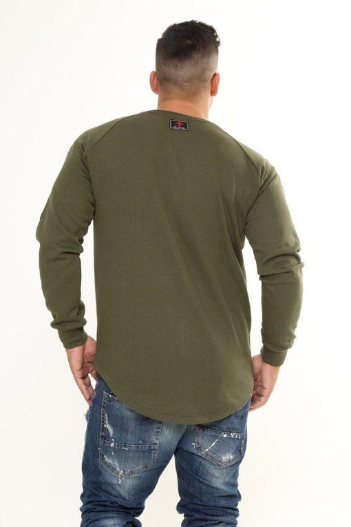 Snowstorm Long-sleeve Shirt Khaki