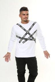 Liquid Long-sleeve Shirt White
