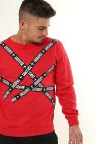 Liquid Long-sleeve Shirt Red