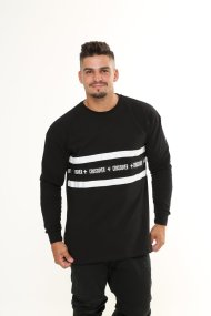 Frontline Long-sleeve Shirt Black
