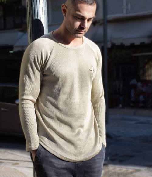 Soul Long-sleeve Shirt Gold