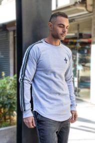 Minimal Long-sleeve Shirt Grey