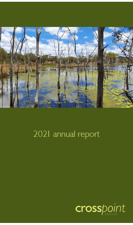 CrossPoint Church 2021 Annual Report, accountability, financial reports