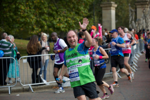 A shot of me running the Royal Parks Half Marathon. Copyright  © JMacMedia.