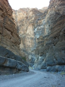 Canyon in Death Valley
