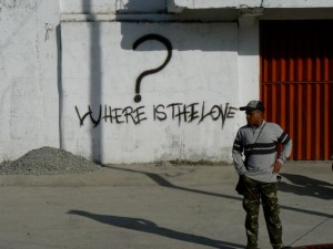 Where is the love? By Tatoli ba Kultura (Tatoli ba Kultura) [CC BY-SA 3.0 (http://creativecommons.org/licenses/by-sa/3.0)], via Wikimedia Commons