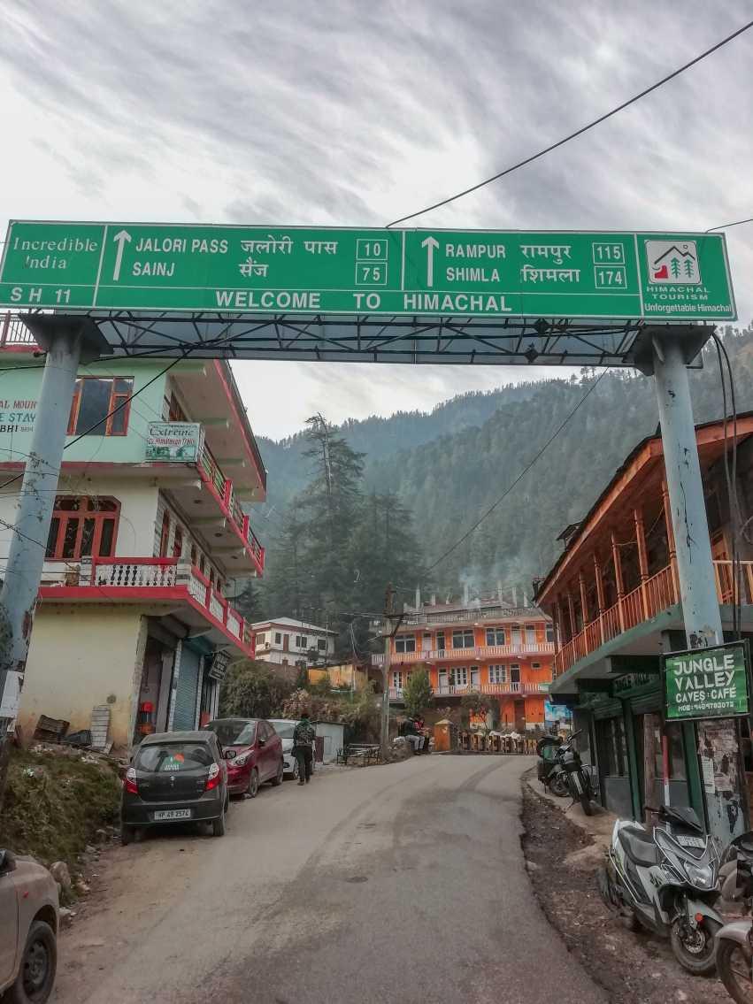Tirthan Valley in Himachal Pradesh