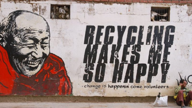 Recycling makes McLeod Ganj Happy