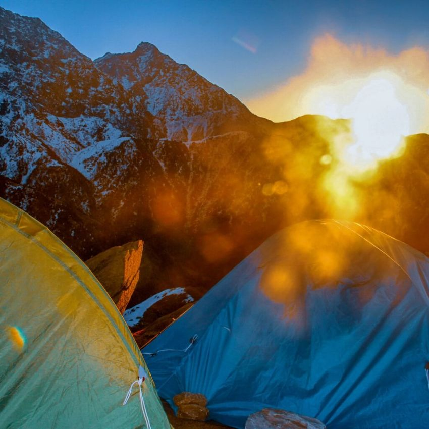 Sunrise from Triund