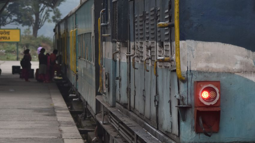 Toy Train in Himachal - Baijnath Paprola Railway Station