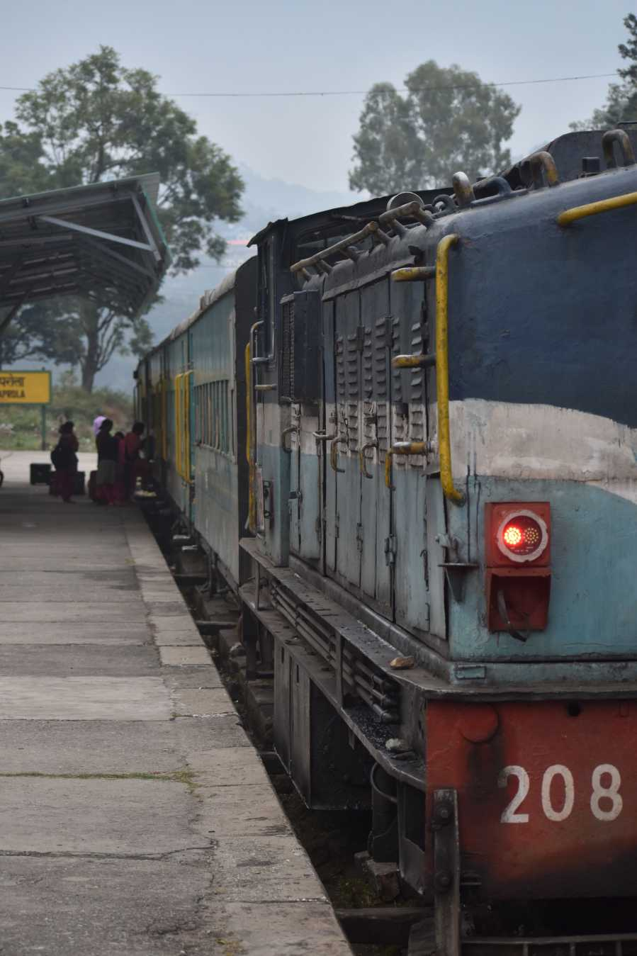Toy Train in Himachal - Baijnath Paprola Railway Station
