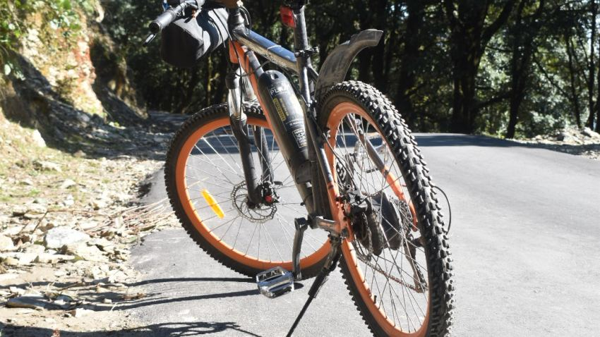 Bir Billing tour on cycle