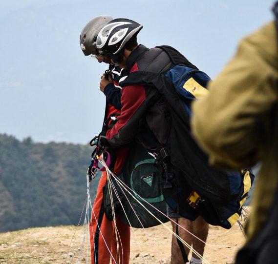 Tandem Paragliding in Bir Billing