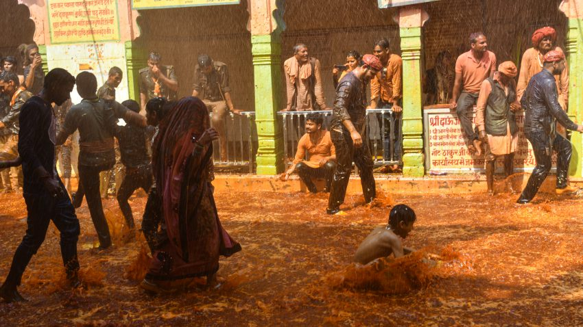 Enjoy the Huranga Holi