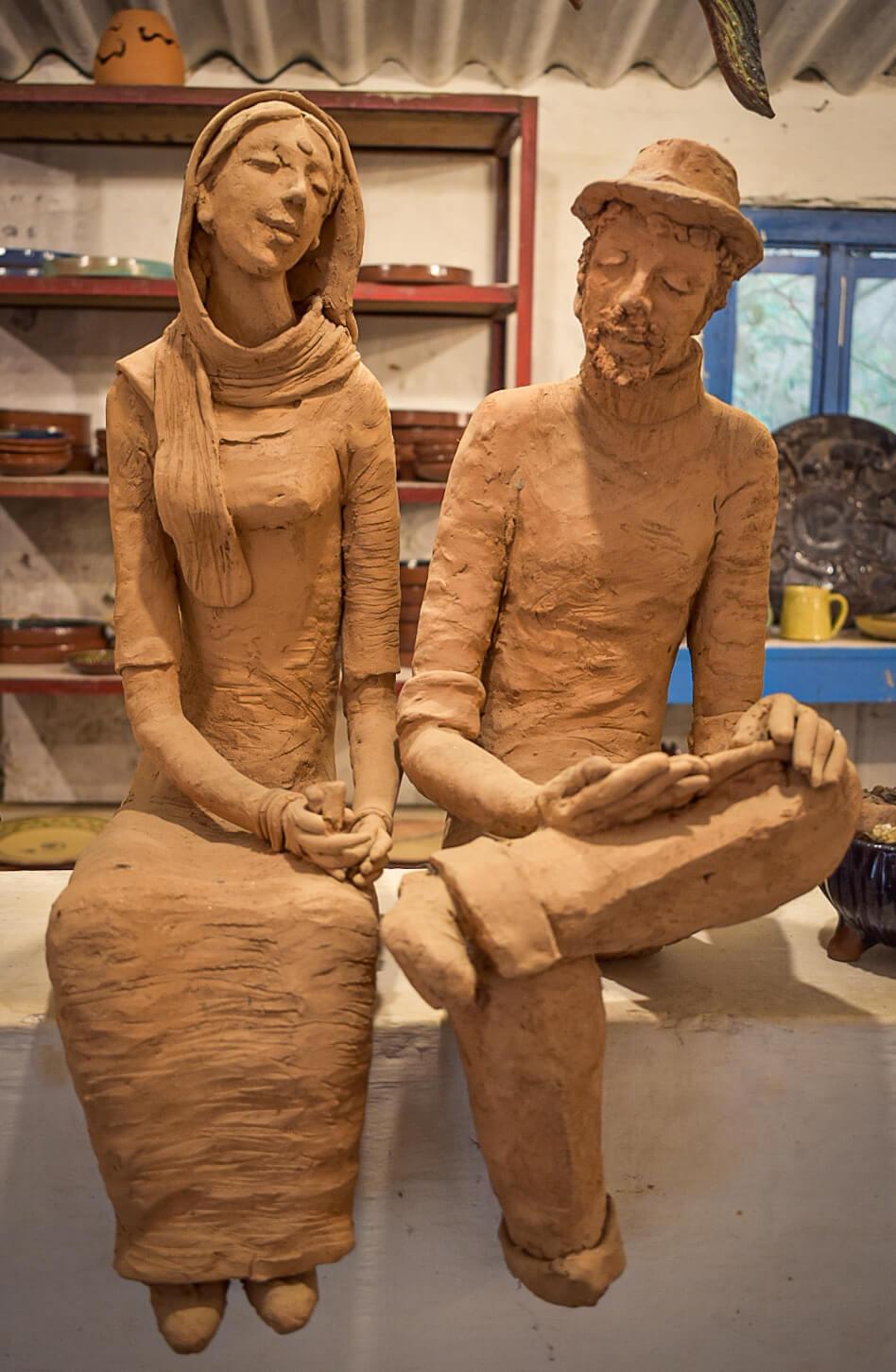 Handmade Art at the Pottery