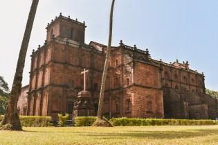 Basilica of Bom Jesus Church in Old Goa