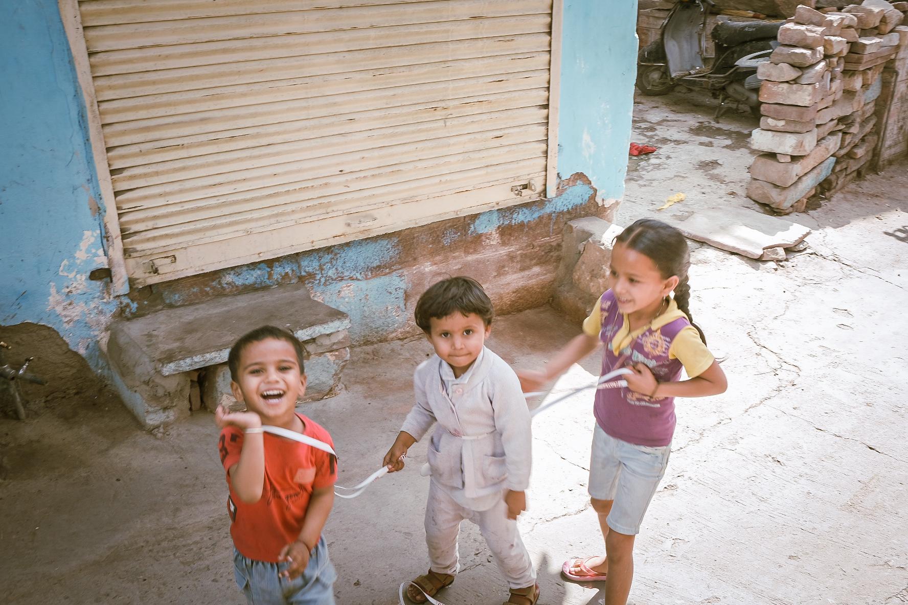 Jodhpur Kids & Fruits involved in Street Photography