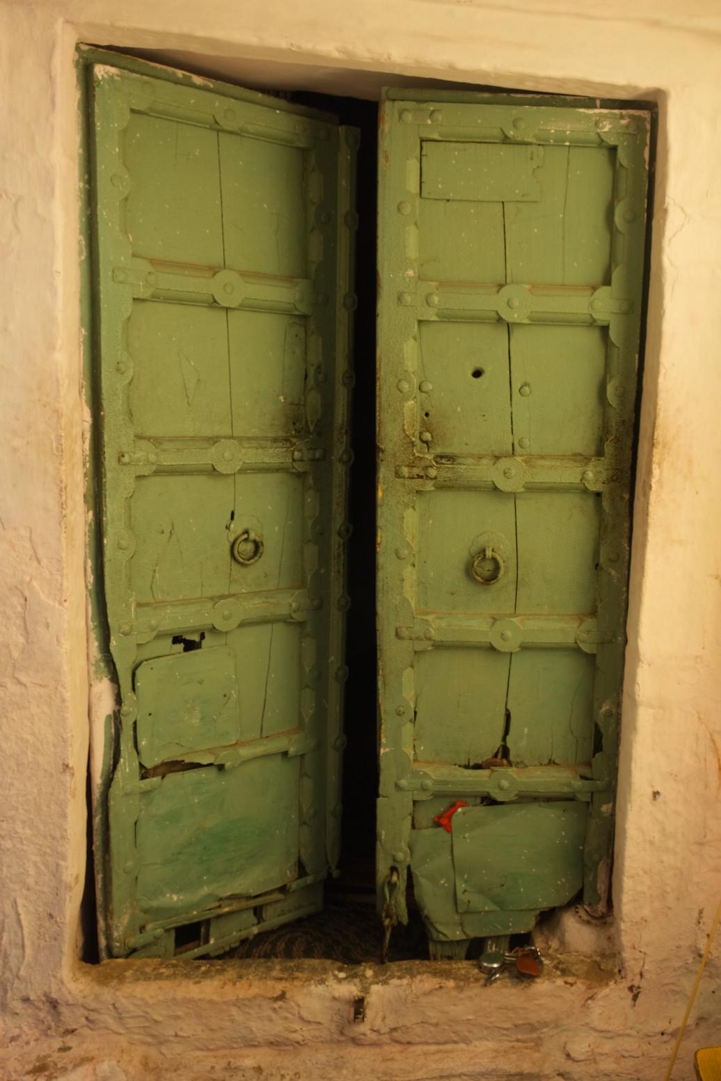 We spotted infinite colorful doors in the Jodhpur Blue City Walk
