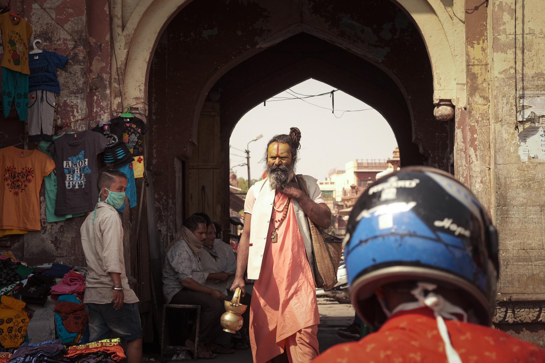 Sadhu Baba Spotted on the Jodhpur Streets