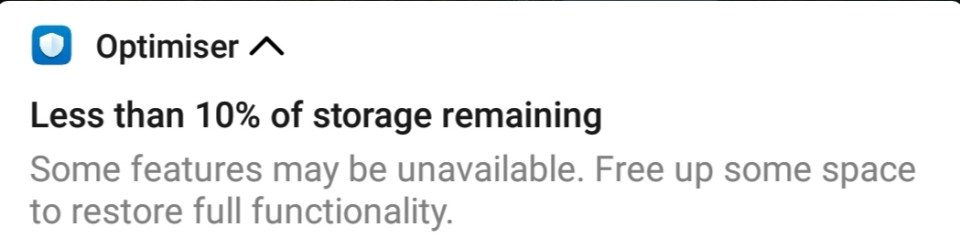 Storage issue on the phone might lead to deleting the old pictures