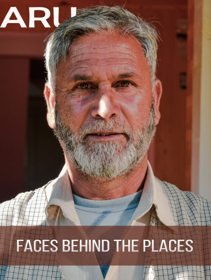 Faces behind the Hidden Gem place of India - The owner of the hotel where I had stayed.