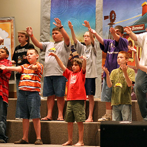 Childrens Ministry at Crossroads Baptist Church, Marshall TX