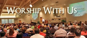 Join us for Worship at 10:30AM