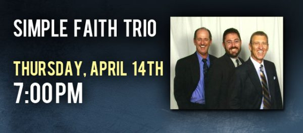 Simple Faith Trio, Live at Crossroads, April 14th