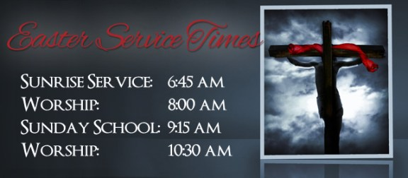 Easter Service Times at Crossroads Marshall TX