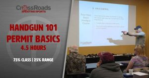Ladies Handgun 101 @ CrossRoads Shooting Sports | Johnston | Iowa | United States