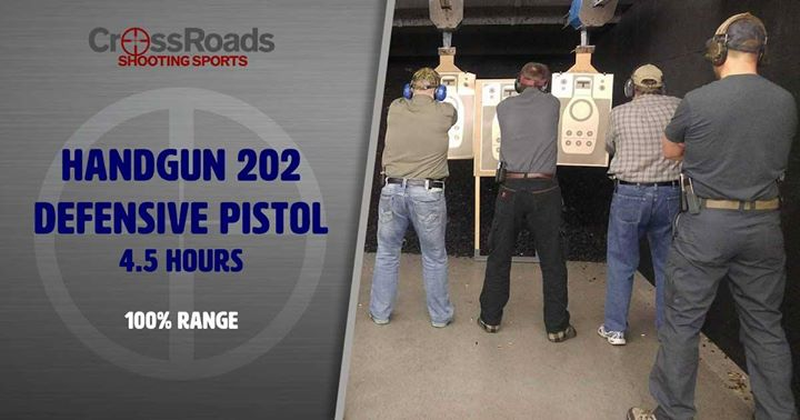 CrossRoads Shooting Sports, Handgun 202, Des Moines Iowa, Shooting Range