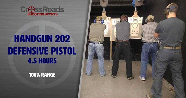 CrossRoads Shooting Sports, Handgun 202, Des Moines Iowa, Shooting Range